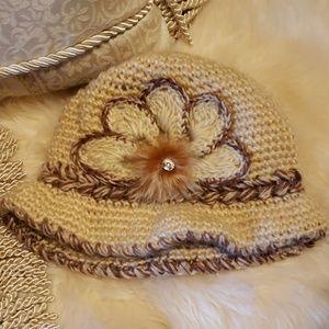 Accessories - Exquisite Hand Crocheted Hat